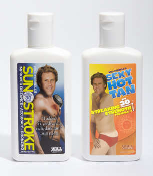 Get That Sexy Tan with Will Ferrell Sunscreen
