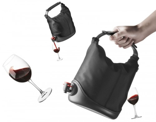 Disguise that Box of Wine as a Purse with the Baggy Winecoat