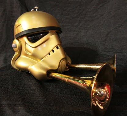 The Brasstrooper is the Coolest Stormtrooper Helmet with Trumpets You Will See Today, Guaranteed
