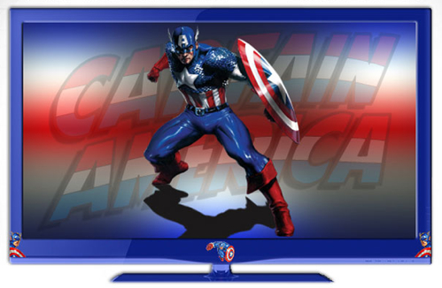 Marvel Comics Branded HDTVs
