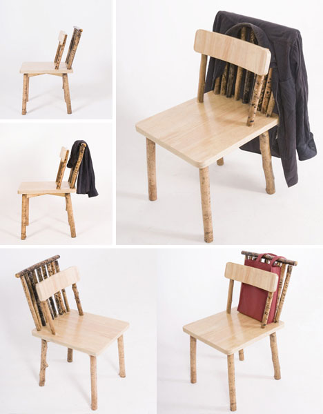 double backed chair Pinboard