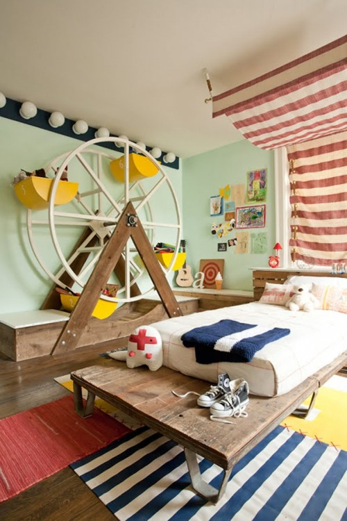 Ferris Wheel Storage for a Kid's Room