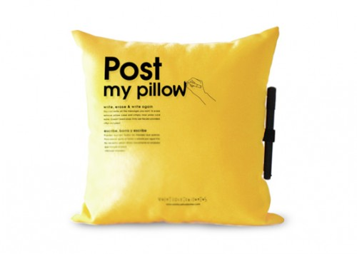 post it pillow 500x356 Pinboard