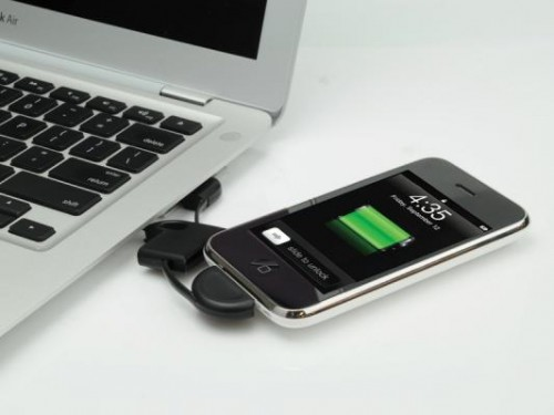 Scosche Flipsync Keychain Sized Ipod Iphone Charger