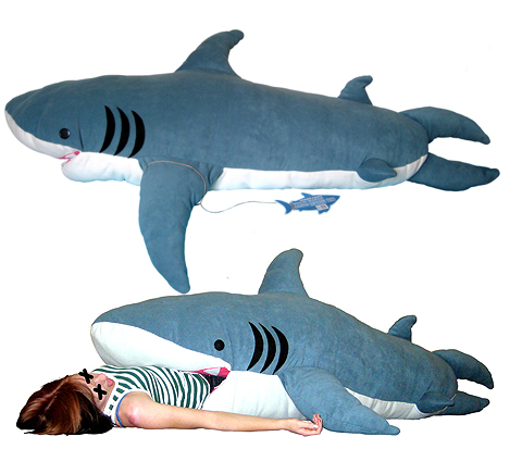 shark attack sleeping bag Pinboard