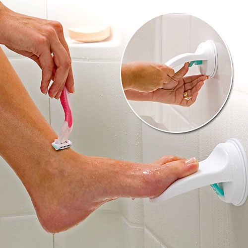 suction cup foot rest Pinboard