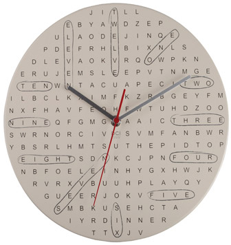 Find the Time with a Word Search Clock