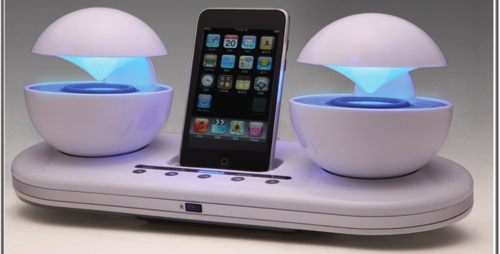 Speakal iCrystal iPod Dock and Speakers