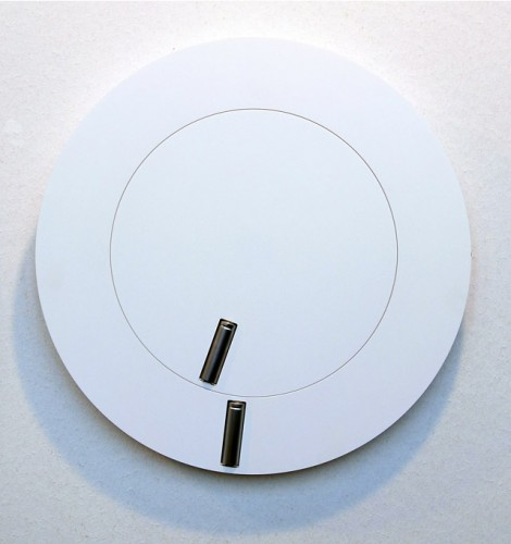 Clock with Batteries for Hands