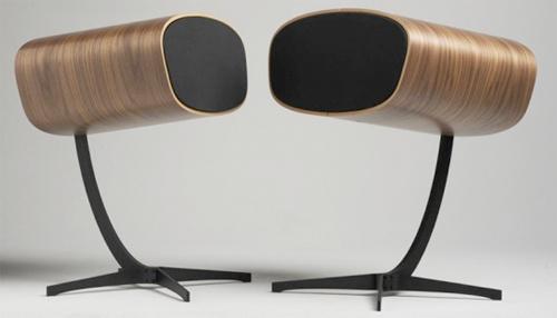 Mid Century Modern Speaker Set