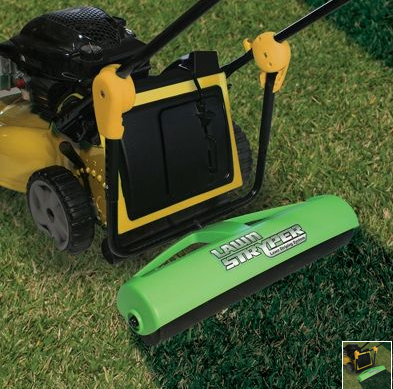 lawn striper Get a Big League Lawn with a Lawn Roller