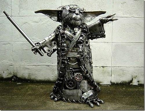 Scrap Metal Yoda