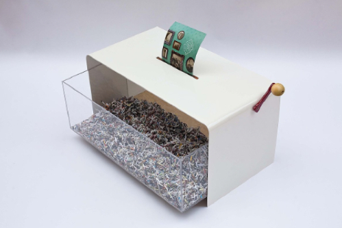 Papervore Coffee Table is Also a Shredder