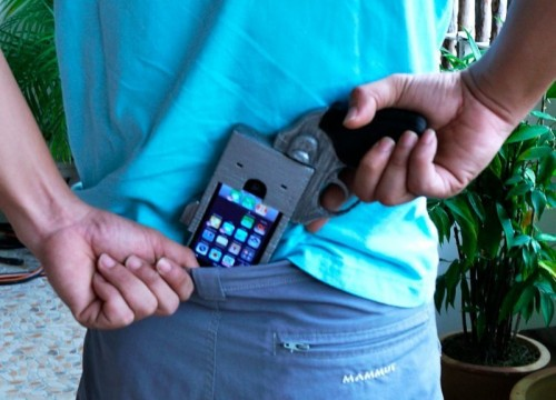 Weaponized Smartphone: The Ultimate iPhone Case