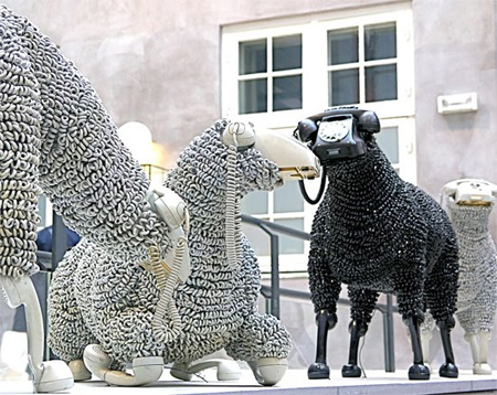 rotary phone sheep Rotary Phone Sheep
