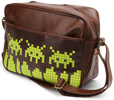 space invaders bag Space Invaders Messenger Bag
