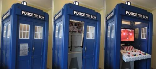 Doctor Who Tardis MAME Arcade Cabinet