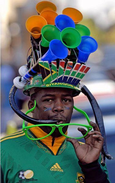 Hot Fashion Trend Alert: Vuvuzela Hat