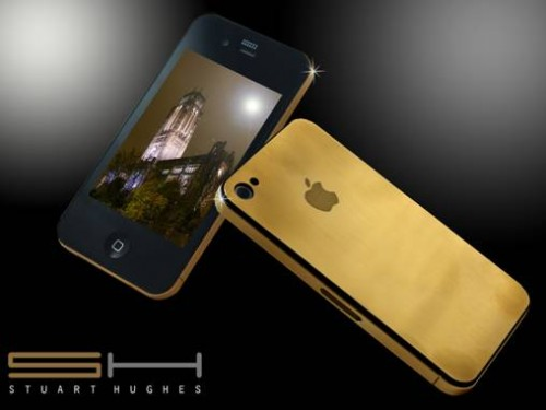 24ct Solid Gold iPhone 4