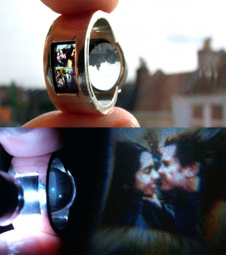 Projector Ring is Geeky Romantic