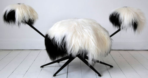Andy Warhol Wig Sofa