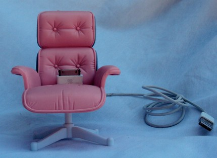 Barbie Executive Office Chair iPhone Dock