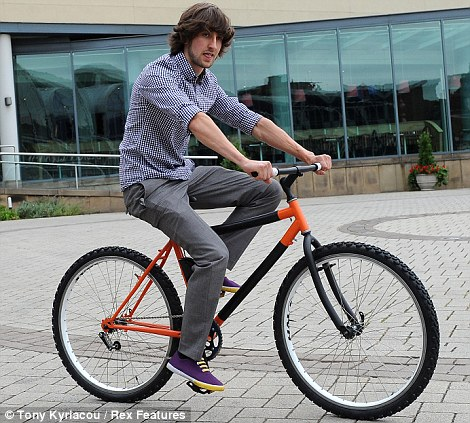 Bendable Bicycle Wraps Around Poles