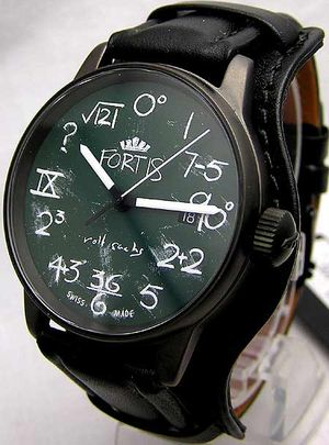 Chalkboard Faced Watch Great for Mathletes