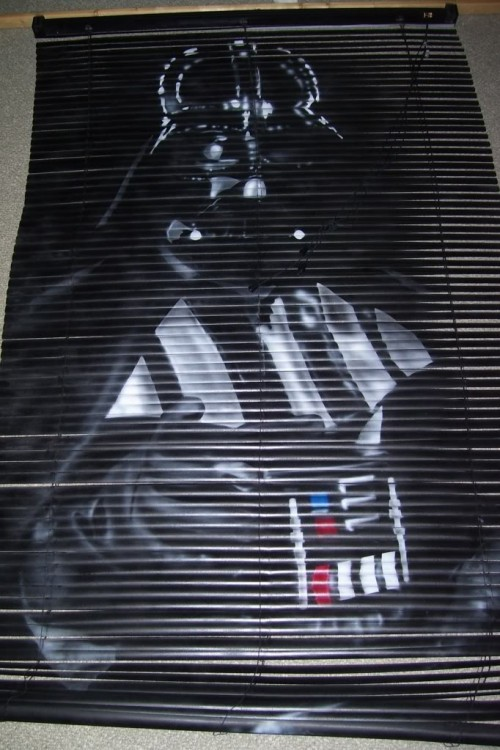 Darth Vader Mini-Blinds Turn Any Room to the Dark Side