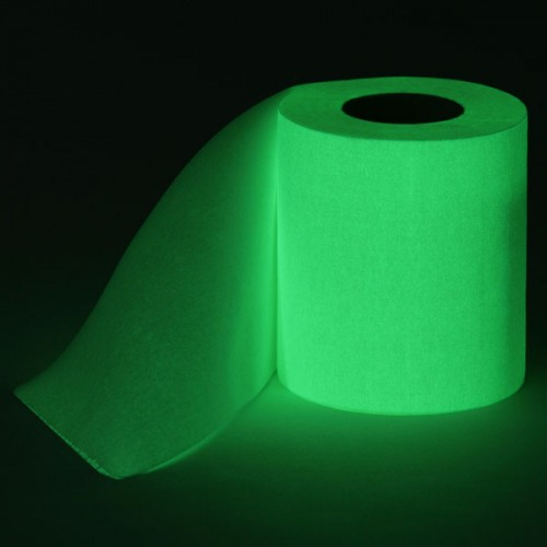 glow in the dark toilet paper 500x500 Glow in the Dark Toilet Paper