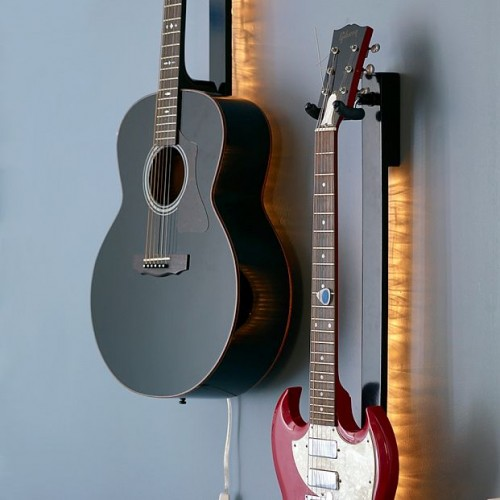 Guitar Light Silhouettes Your Axe