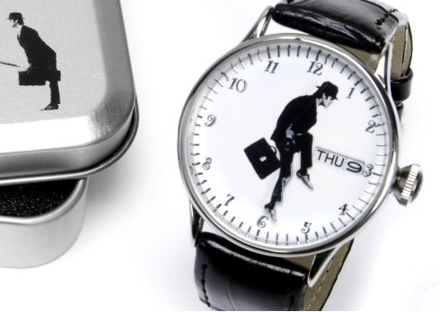 Ministry of Silly Walks Watch (Monty Python!)