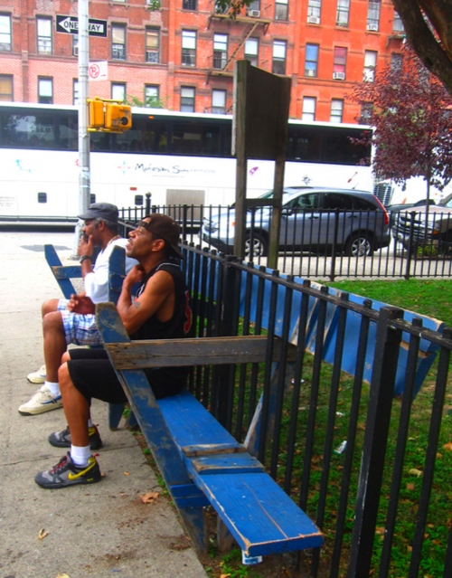 NYPD Barricade Hack: A Bench