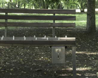 Pay Up or This Bench Will Spike You