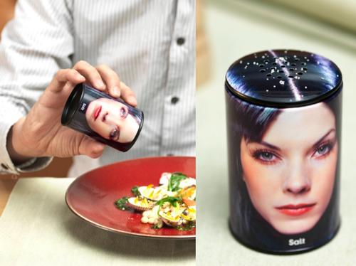 Dandruff Salt Shaker