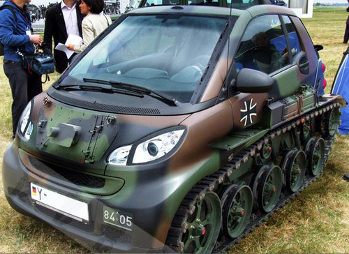 Smart Car Monster Truck Craziest Gadgets