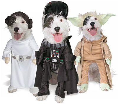 The Empire Strikes Bark: Star Wars Pet Costumes