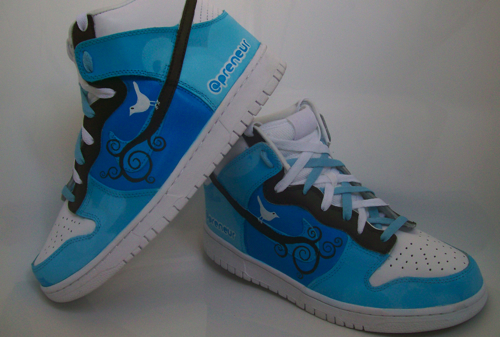 Twitter Sneakers and Other Cool Customized Kicks