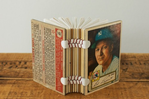 Vintage Baseball Cards Made Into Notepads Craziest Gadgets