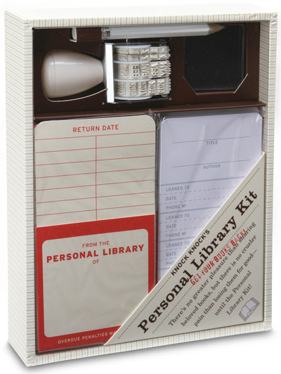 DIY Library Kit Ensures You Get Your Books Back Quickly