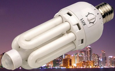 World's First Motion Sensing CFL Light Bulb