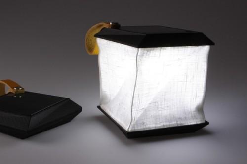 Expanding Solar Lantern