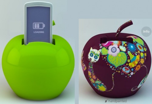 fruit charger 500x343 Give Your Phone Some Juice with a Charging Fruit