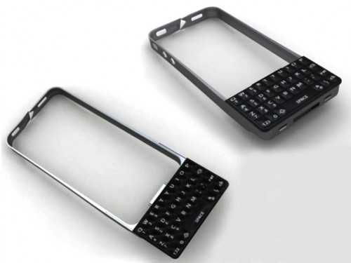 QWERTY Keyboard Case for iPhone