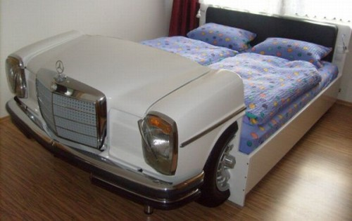 mercedes bed 500x315 Mercedes Bed is the Racing Car Bed for Adults