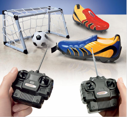 remote control soccer cleat Remote Controlled Soccer Shoe