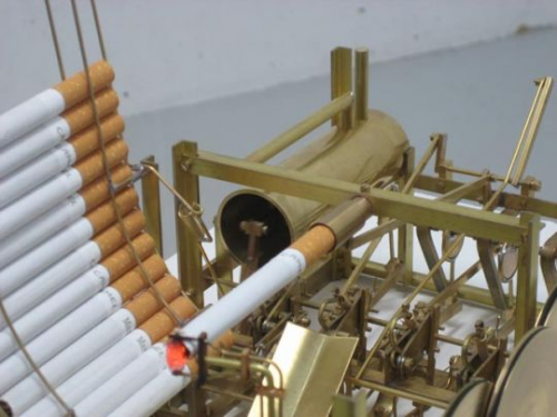 smoking machine Pinboard