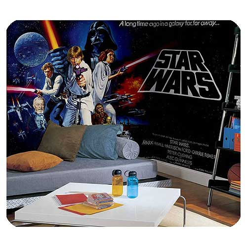 star wars wall mural Star Wars Full Size Wall Mural