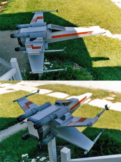 Star Wars X-Wing Mailbox