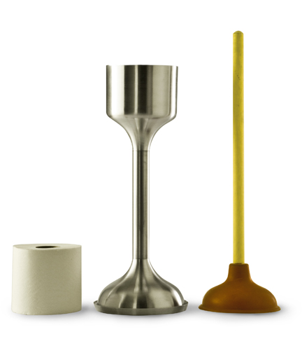 Undercover Is The Classiest Toilet Plunger Ever